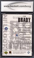 Tom Brady 2000 Black Diamond #126 RC (BCCG 10) at PristineAuction.com