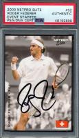 Roger Federer Signed 2003 NetPro Elite Event Starter #S2 (PSA Encapsulated) at PristineAuction.com