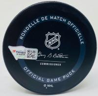 "Auston Matthews Signed Maple Leafs Logo Hockey Puck Inscribed ""2021 Rocket Richard"" (Fanatics Hologram) at PristineAuction.com"