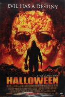 """Rob Zombie Signed """"Halloween"""" 24x36 Poster (Beckett COA) (See Description) at PristineAuction.com"""