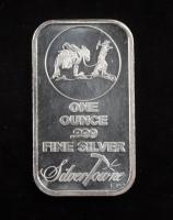 1 Oz .999 Fine Silver Silvertowne Bullion Bar at PristineAuction.com