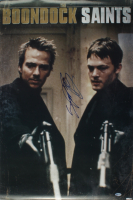 """Sean Patrick Flanery Signed """"Boondock Saints"""" 22.5x24.5 Poster (Beckett Hologram) (See Description) at PristineAuction.com"""