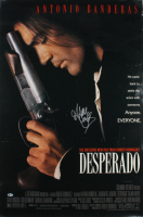 "Antonio Banderas Signed ""Desperado"" 27x40 Poster (Beckett COA) (See Description) at PristineAuction.com"
