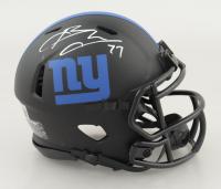Brandon Jacobs Signed Giants Eclipse Alternate Speed Mini-Helmet (Beckett COA) (See Description) at PristineAuction.com