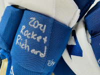 "Auston Matthews Signed LE CCM Ice Hockey Glove Set Inscribed ""2021 Rocket Richard"" (Fanatics Hologram) at PristineAuction.com"