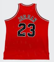 """Michael Jordan Signed LE Bulls Jersey Inscribed """"2009 HOF"""" (UDA Hologram) at PristineAuction.com"""