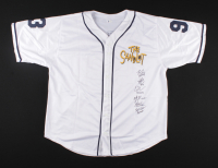 Jersey Cast-Signed by (6) with Tom Guiry, Chauncey Leopardi, Marty York, Shane Obedzinski, Victor DiMattia, Brandon Adams with Multiple Inscriptions (Beckett COA) at PristineAuction.com