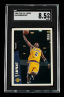 Kobe Bryant 1996-97 Collector's Choice #267 RC (SGC 8.5) at PristineAuction.com
