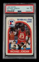 Michael Jordan 1989-90 Hoops #21 AS (PSA 8) at PristineAuction.com