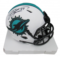 Jason Taylor Signed Dolphins Lunar Eclipse Alternate Speed Mini Helmet (Beckett Hologram) at PristineAuction.com