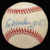 Bill Monbouquette Signed OAL Baseball (PSA COA) (See Description) at PristineAuction.com