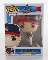 """Charlie Sheen Signed """"Major League"""" #886 Ricky """"Wild Thing"""" Vaughn Funko Pop! Vinyl Figure (Beckett Hologram) at PristineAuction.com"""