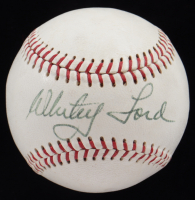 Whitey Ford Signed OAL Baseball (PSA COA) at PristineAuction.com