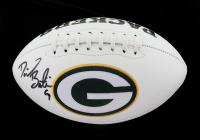 David Bakhtiari Signed Packers Logo Football (Beckett Hologram) at PristineAuction.com