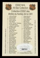 Jean Beliveau Signed 1988-89 Esso All-Stars #1 (JSA Hologram) at PristineAuction.com