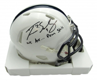 """Trace McSorley Signed Penn State Nittany Lions Speed Mini-Helmet Inscribed """"We Are... Penn State"""" (JSA COA) at PristineAuction.com"""