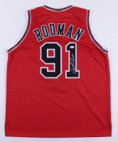 Dennis Rodman Signed Jersey (JSA COA) (See Description) at PristineAuction.com