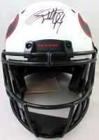 J.J. Watt Signed Texans Full-Size Authentic On-Field Lunar Eclipse Alternate Speed Helmet (JSA Hologram & Watt Hologram) at PristineAuction.com