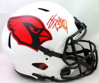J.J. Watt Signed Cardinals Full-Size Authentic On-Field Lunar Eclipse Alternate Speed Helmet (JSA Hologram & Watt Hologram) at PristineAuction.com