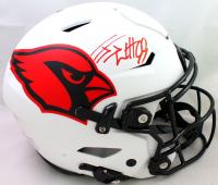 J.J. Watt Signed Cardinals Full-Size Authentic On-Field Lunar Eclipse Alternate SpeedFlex Helmet (JSA Hologram & Watt Hologram) at PristineAuction.com