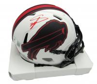 Stefon Diggs Signed Bills Lunar Eclipse Alternate Speed Mini Helmet (Beckett Hologram) at PristineAuction.com
