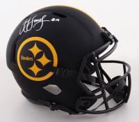 JuJu Smith-Schuster Signed Steelers Full-Size Eclipse Alternate Speed Helmet (Beckett Hologram) (See Description) at PristineAuction.com