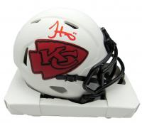Tyreek Hill Signed Chiefs Lunar Eclipse Alternate Speed Mini Helmet (JSA COA) at PristineAuction.com