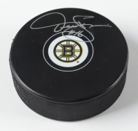 Derek Sanderson Signed Bruins Logo Hockey Puck (PSA COA) at PristineAuction.com