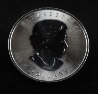 2015 Canadian 3/4 Ounce Grey Wolf $2 .9999 Silver Coin at PristineAuction.com