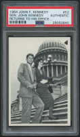 John F. Kennedy 1964 #52 Sen. John Kennedy Returns to His Office (PSA Authentic) at PristineAuction.com