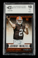 Johnny Manziel 2014 Rookies and Stars #153A RC (BCCG 10) at PristineAuction.com