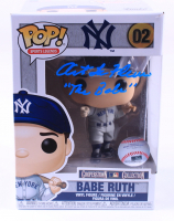 "Art LaFleur Signed Yankees #02 Babe Ruth Funko Pop! Vinyl Figure Inscribed ""The Babe"" (AutographCOA COA) (See Description) at PristineAuction.com"