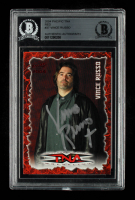 Vince Russo Signed 2004 Pacific TNA Red #37 (BGS Encapsulated) at PristineAuction.com