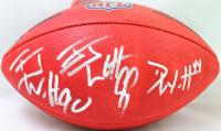 "J. J. Watt, T.J. Watt & Derek Watt Signed ""The Duke"" Official NFL Game Ball (JSA Hologram & Watt Hologram) at PristineAuction.com"