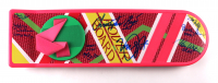 """""""Back To The Future Part II"""" Full-Size Hover Board Signed By (8) with Michael J. Fox, Bob Gale, Christopher Lloyd, Darlene Vogel, Donald Fullilove with Multiple Character Inscriptions (AutographCOA Hologram) (See Description) at PristineAuction.com"""