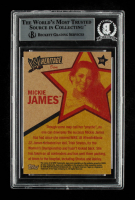 Mickie James Signed 2006 Topps Heritage II WWE #58 DV (BGS Encapsulated) at PristineAuction.com