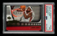 LeBron James 2006-07 UD Reserve MVP Watch Gold #MVPLJ (PSA 9) at PristineAuction.com