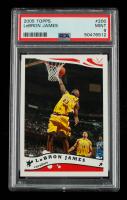 LeBron James 2005-06 Topps #200 (PSA 9) at PristineAuction.com