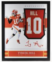 Tyreek Hill Signed 35x43 Custom Framed Jersey (JSA Hologram) at PristineAuction.com