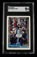 Shaquille O'Neal 1992-93 Topps #362 RC (SGC 9) at PristineAuction.com