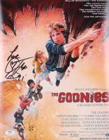"Corey Feldman Signed ""The Goonies"" 11x14 Movie Poster Inscribed ""Love"" (PSA COA) at PristineAuction.com"