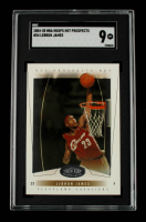 LeBron James 2004-05 Hoops Hot Prospects #54 (SGC 9) at PristineAuction.com