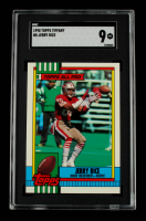 Jerry Rice 1990 Topps Tiffany #8 (SGC 9) at PristineAuction.com