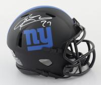 Brandon Jacobs Signed Giants Eclipse Alternate Speed Mini-Helmet (Beckett COA) at PristineAuction.com