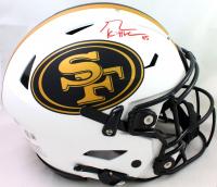 George Kittle Signed 49ers Full-Size Authentic On-Field Lunar Eclipse Alternate SpeedFlex Helmet (Beckett Hologram) at PristineAuction.com