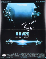 """Michael Biehn Signed """"The Abyss"""" 11x14 Movie Poster Inscribed """"Coffe"""" (PSA COA) at PristineAuction.com"""