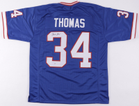 Thurman Thomas Signed Jersey (Beckett Hologram) at PristineAuction.com