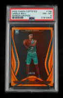 LaMelo Ball 2020-21 Certified Mirror Orange #198 (PSA 8) at PristineAuction.com