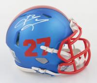 Brandon Jacobs Signed Giants Speed Mini-Helmet (Beckett COA) at PristineAuction.com