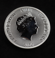 2020 Niue 1 Ounce Disney Mickey Mouse $2 .999 Silver Coin at PristineAuction.com